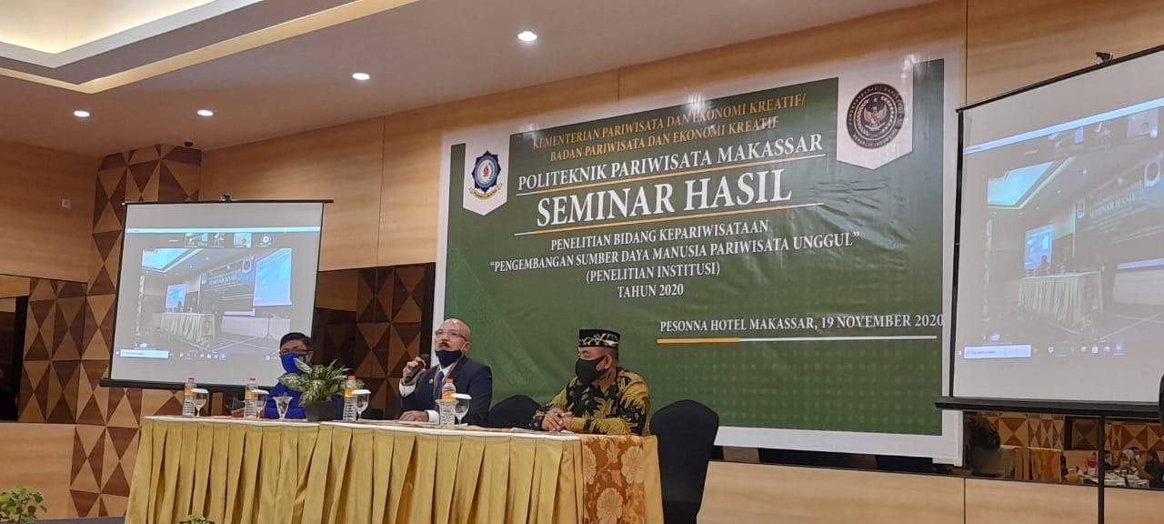Pelaksanaan Seminar Hasil Penelitian Institusi