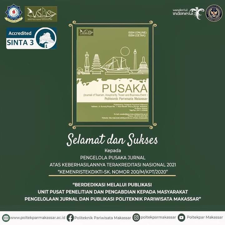 Jurnal PUSAKA meraih Akreditasi Nasional SINTA 3 – KEMENRISTEKDIKTI SK. No. 200/M/KPT/2020