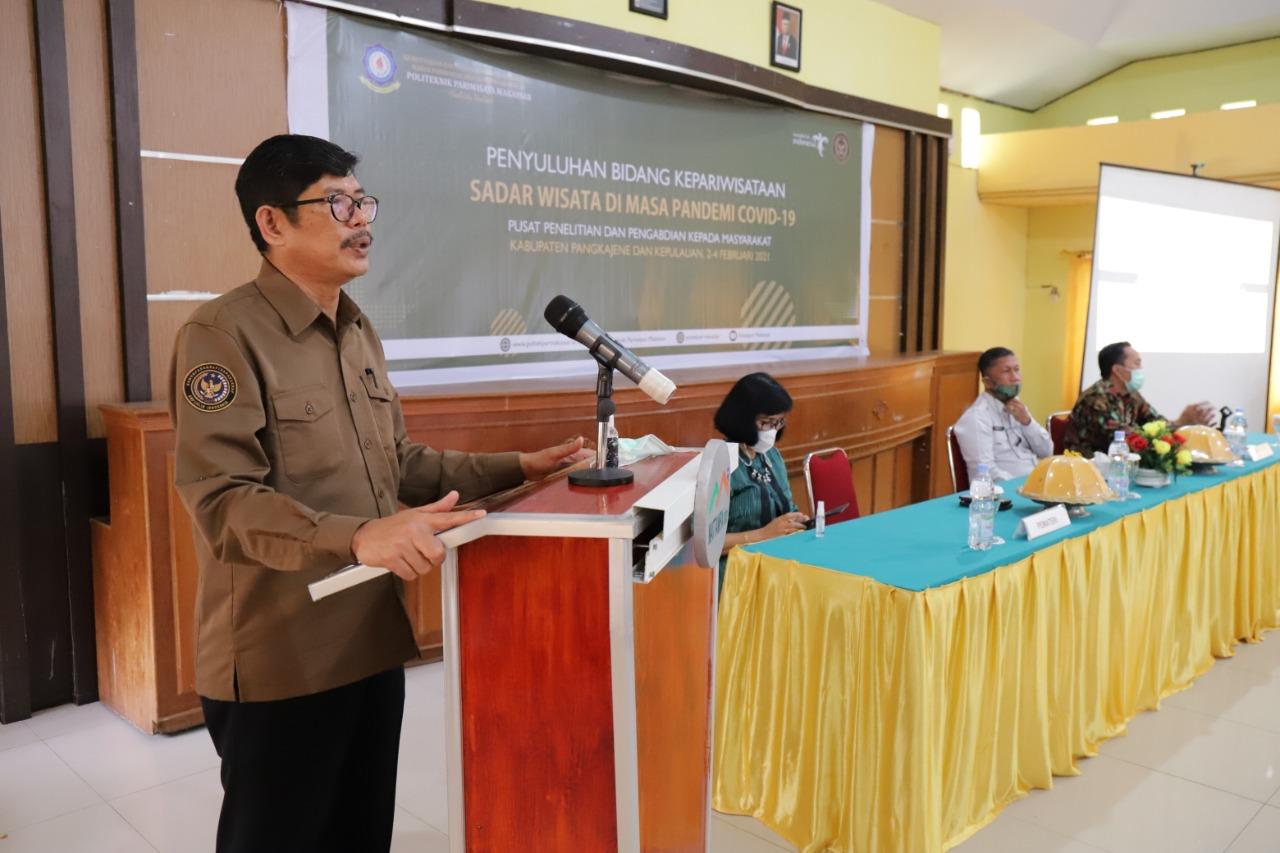 P3M Poltekpar Makassar Penyuluhan Kepariwisataan di Kabupaten Pangkajene dan Kepulauan